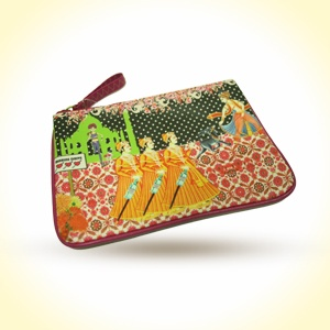 The Royal Stag   Zipper Coin Pouch  MRP - Rs. 350