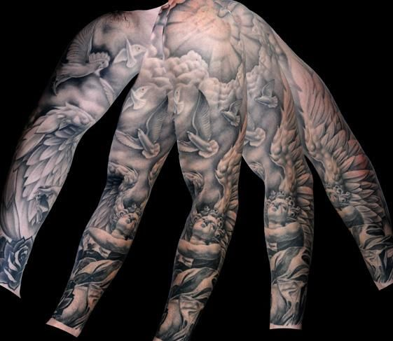Tattoos on pinterest clock damask tattoo and virgin mary tattoos