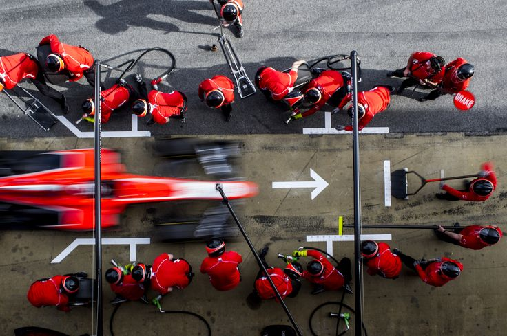 F1 pits