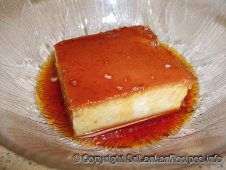 Sri Lankan Caramel Pudding