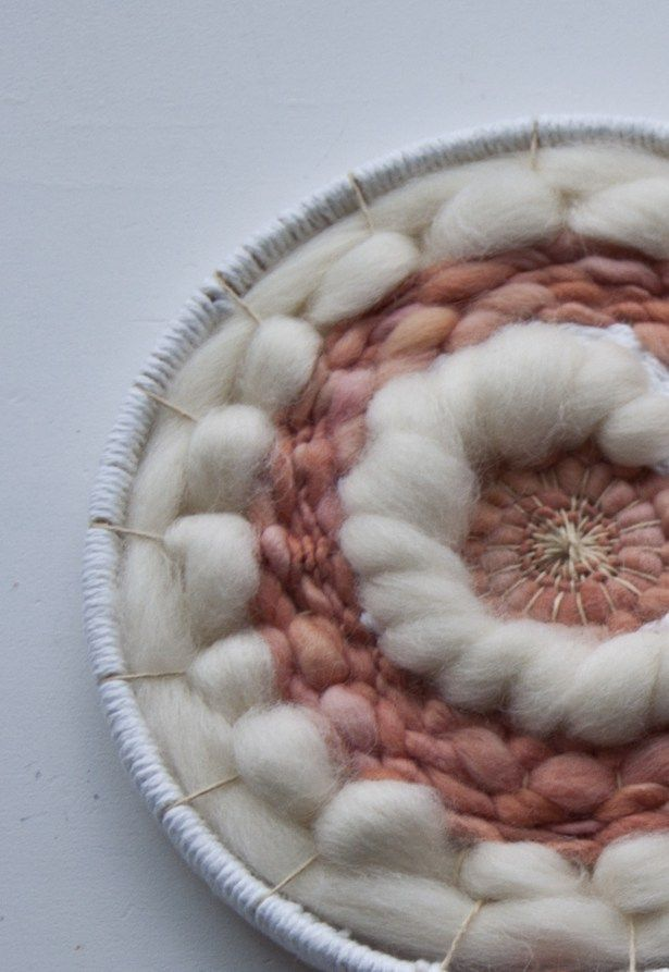 I know many of you are excited to finish your circle weaves, so today I'm sharing one way to finish your circle weave that you made with an embroidery hoop. This is really simple and it&#8217…