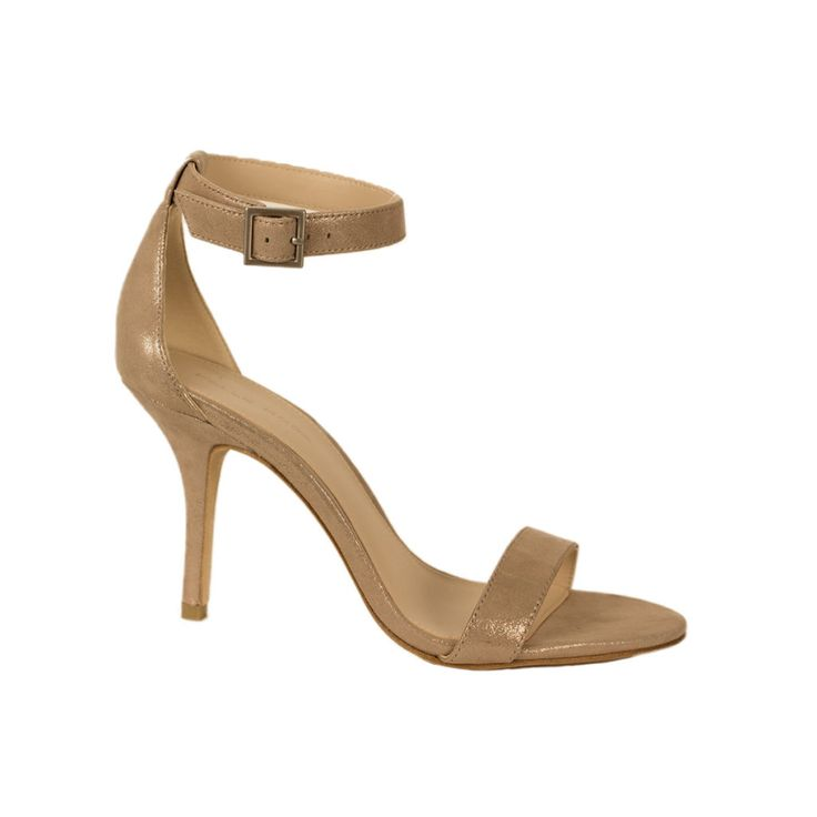 Kacey Taupe Shimmer Suede by Pelle Moda Shoes - Footloose Shadyside - Pittsburgh PA