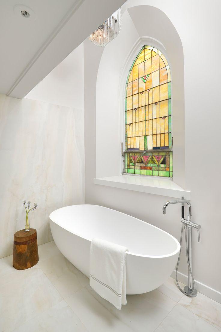 Una antigua iglesia se convierte en una vivienda muy singular en Chicago