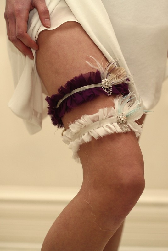 Are garters really necessary...IDK, but these are cute.
