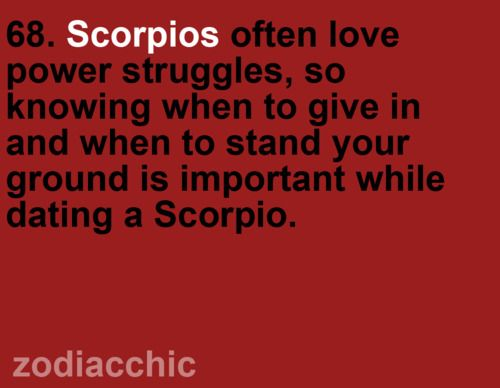 what to know about dating a scorpio
