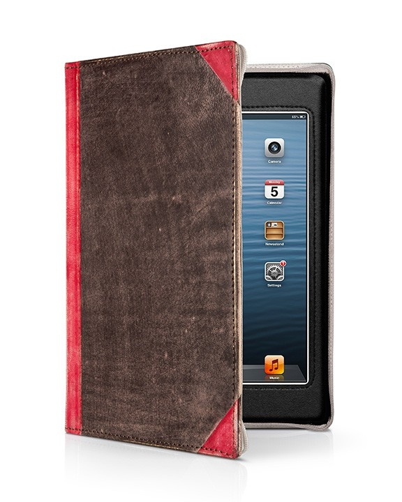 TwelveSouth BookBook Vibrant Red voor iPad Mini