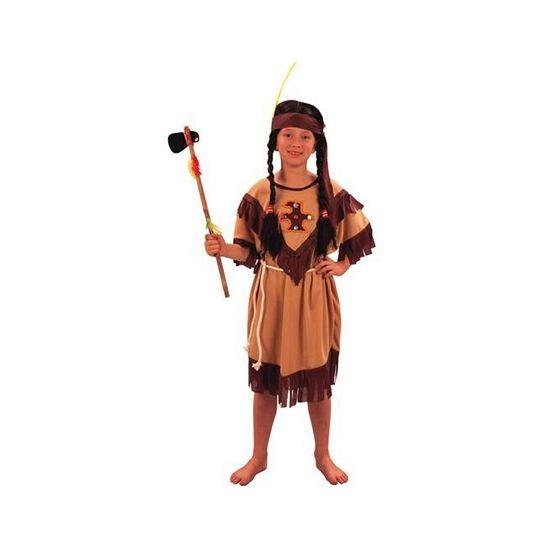 Voordelig indianen kinder jurkje. Dit Indianen kostuum voor meisjes bestaat uit een jurkje, riem en hoofdband. Carnavalskleding 2015 #carnaval