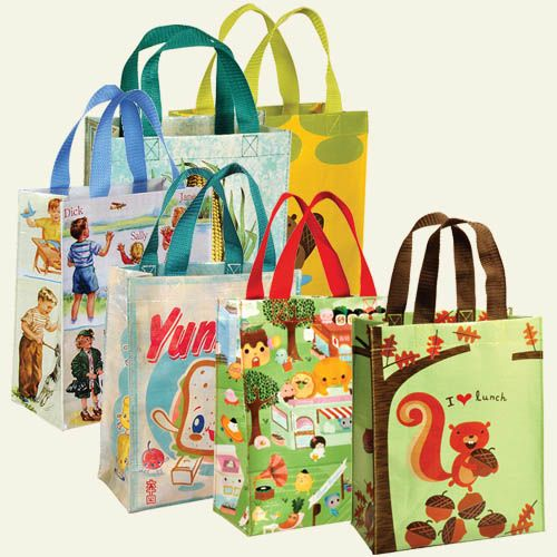 Blue Q Small Reusable Tote Lunch And Gift Bag Replaces Disposable Bags Wring Recipient Can Reuse Re Ma Sustainable Ping Pinte