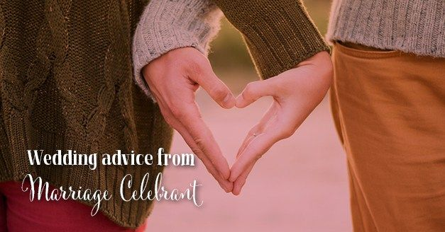 wedding advice from a marriage celebrant http://www.southernbride.co.nz/advice-from-a-marriage-celebrant/
