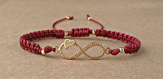 Infinity Bracelet For Her-Friendship by dngcreations on Etsy