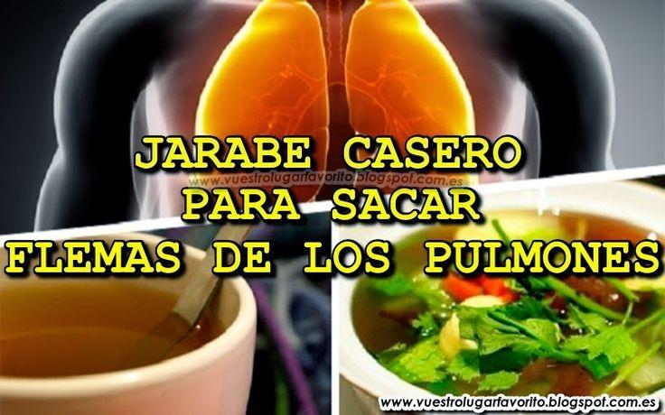 JARABE CASERO PARA SACAR FLEMAS DE LOS PULMONES Puedes aprender en el siguiente artículo más de un jarabe casero para sacar flemas de los pulmones, así como también ciertas recetas naturales muy eficaces.