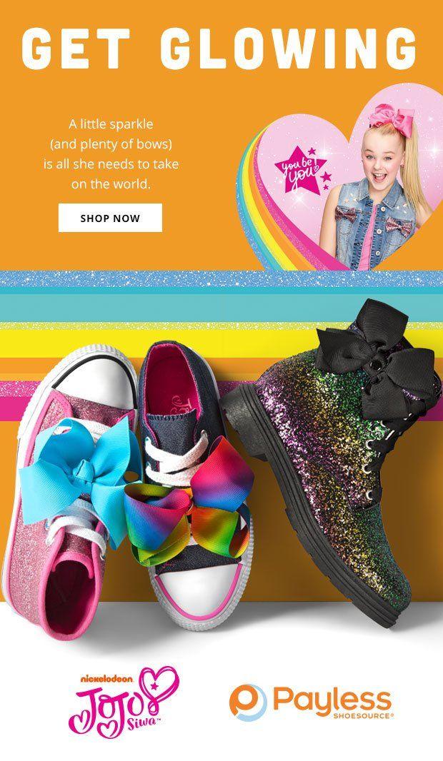 Jojo Siwa at Payless! | Kids shoes