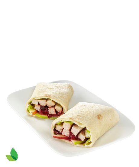 Spicy Cranberry Turkey Wrap Recipe with Truvía® Baking Blend