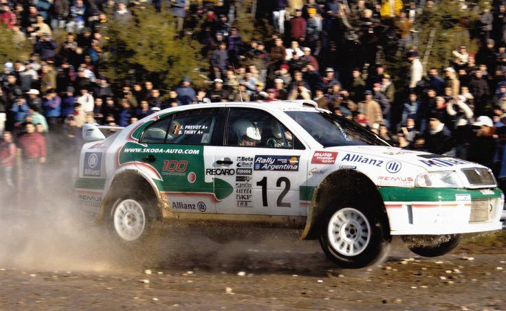 Bruno Thiry - Stephane Prevot 21st Rally Argentina 2001 (Skoda Octavia WRC)