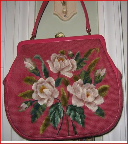 vintage needlepoint bags