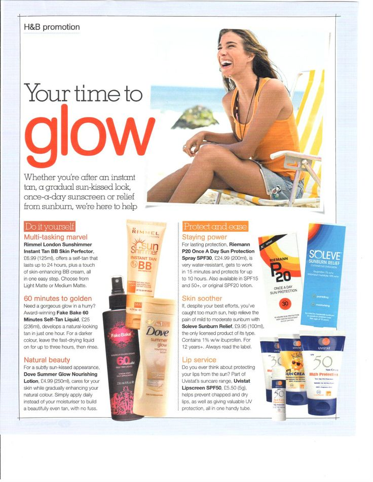 Boots Health & Beauty are loving are 60 Minutes Tan.