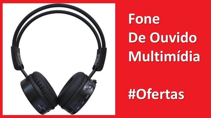 AMERICANAS Fone De Ouvido Multimídia 68% de DESCONTO Fone De Ouvido Multimídia Onbongo Onb-M80 Com Rádio Fm E Slot Para Cartão De Memória - Preto