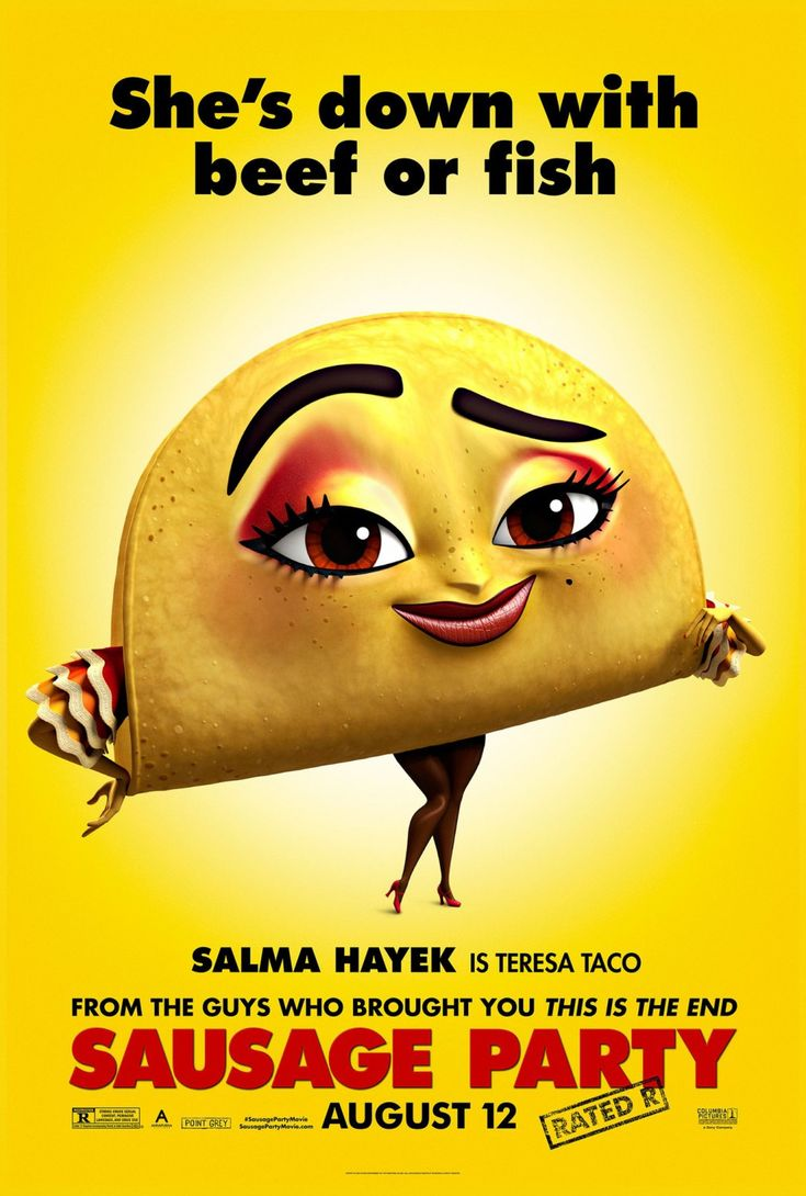 New Movie Posters for Sausage Party