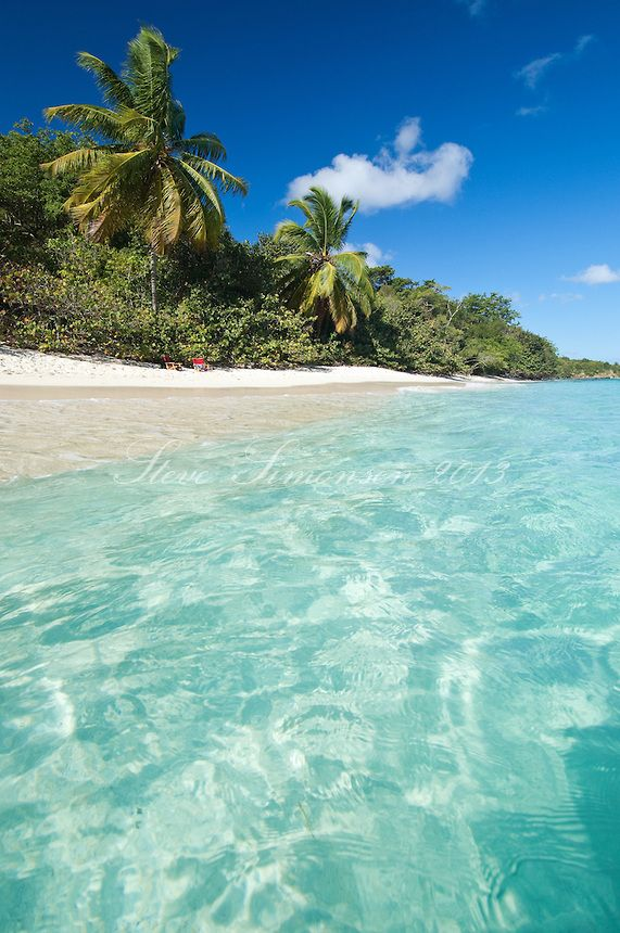 Us virgin island beaches