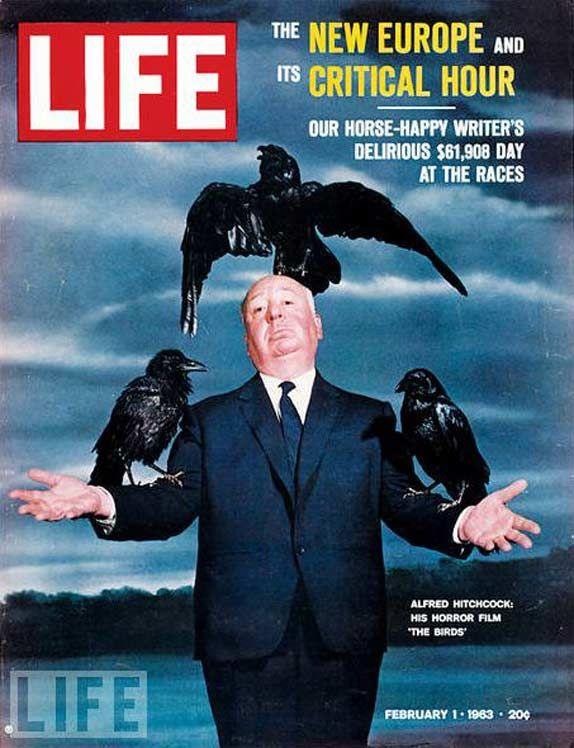 Hitchcock in Life Magazine 1963