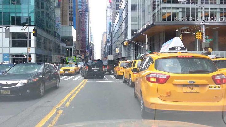 Рассказы о Нью-Йорке. Из центра Манхэттена в Бруклин на автомобиле. From...