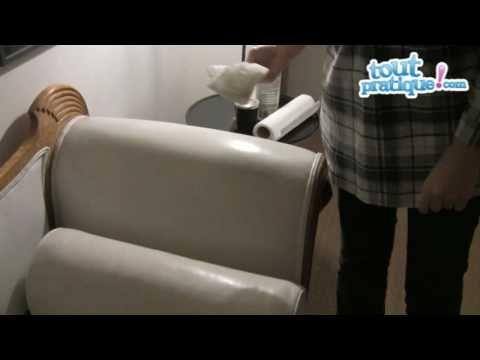 Nettoyer canapé en cuir   Comment nettoyer un canapé en cuir?  Toutpratique - YouTube