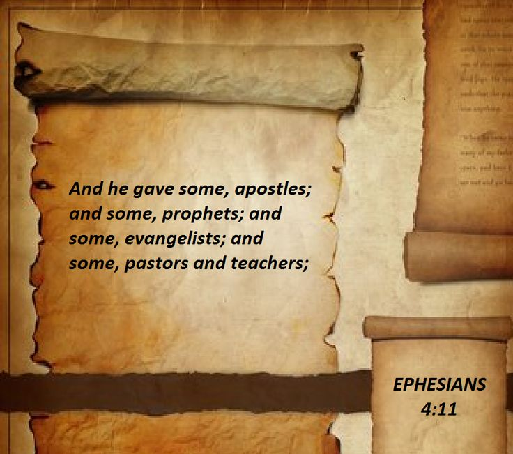 Ephesians 411 spiritual gifts leadership inspiration