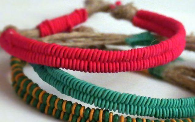 Flechte Armbänder im Fischgrätenzopf in allen Farben des Sommers!