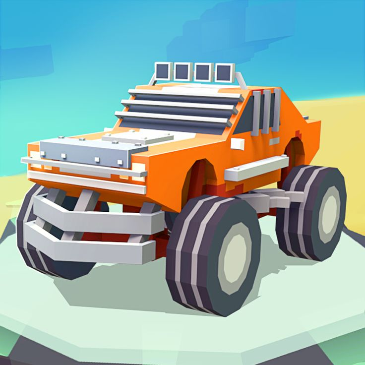 "This game ""3D Monster Truck: SkyRoads"" is all about speed and dangerous curves that you will have to take in considering the difficulty and the powerful engine your monster truck has."