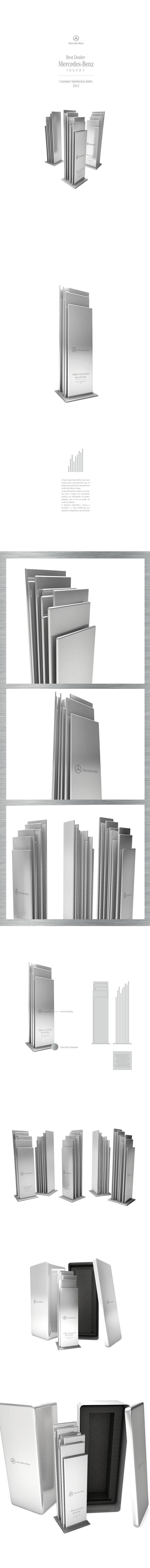 Mercedes-Benz · Best Dealer Trophy on Behance
