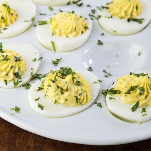 Tarragon Deviled Eggs | Veggies & Side Dishes - GF | Pinterest