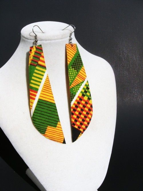 Afrocentric Earrings | african earrings | Tumblr