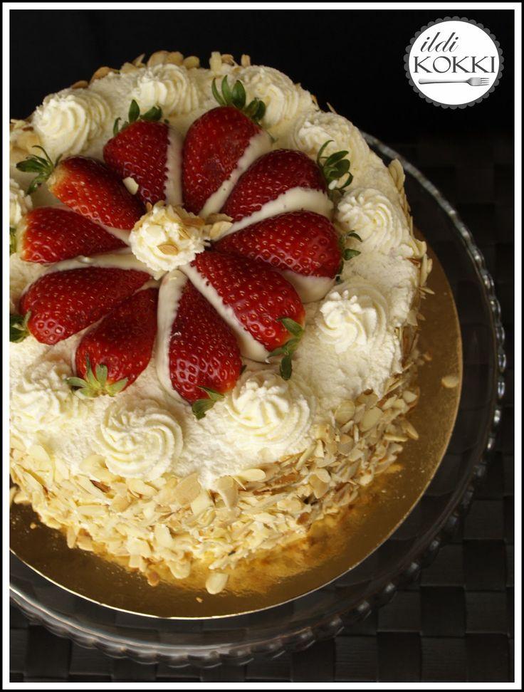 ildi KOKKI : Erdei gyümölcsös & mascarpone krémes torta