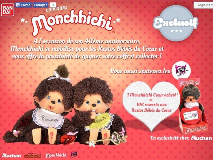 Nés dans les années 70/80 voici un concours pour vous (et moi)!  25 coffrets anniversaire Monchhichi à gagner avec Parents:  http://www.addictsauxconcours.com/t5972-2011-tas-parents-25-coffrets-anniversaire-monchhichi-dlp19-12-2014