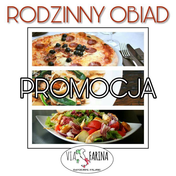 ★ RODZINNY OBIAD ★  ☛ 2 MAKARONY lub 2 SAŁATKI + 2 PIZZE NEAPOL = 69 ZŁ! ☚ Sprawdź ile oszczędzasz ☛ http://www.viafarina.pl/ ☛ ZAPRASZAMY ★  #restauracjawłoska #restauracja #viafarina #Niepołomice #Kraków #Wieliczka #weekend #Pizza #Italia #menu #Obiad #Kolacja #kręgle #rodzina #pysznejedzenie #niedzelnyobiad #zaproszenie #tniemyceny #promocja #makaron #sałatka #neapol #oszczędności