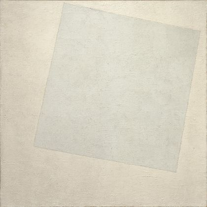 Kazimir Malevich white on white