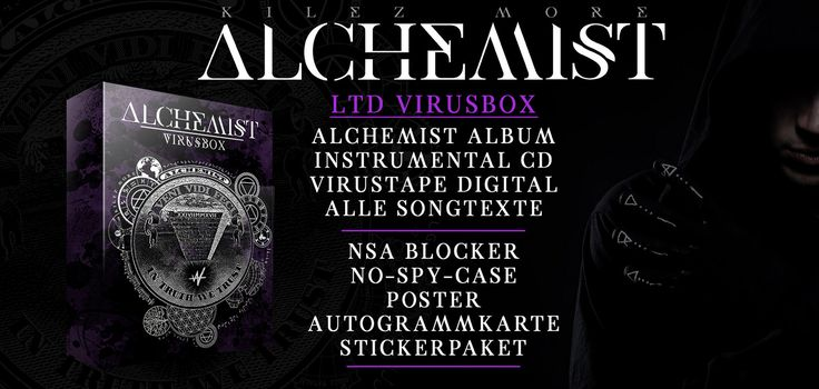 Kilez More Alchemist Virusbox Inhalt [02.06.17]