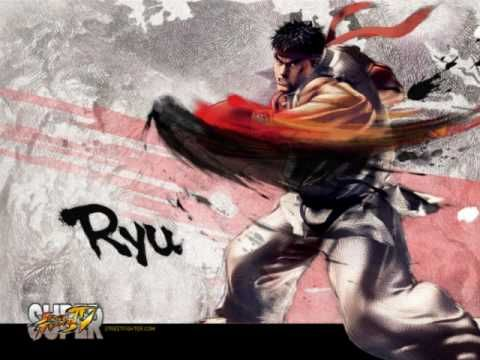 Super Street Fighter IV - Theme of Ryu - YouTube