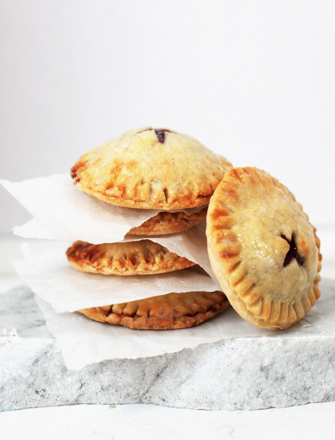 Easy Cherry Hand Pies--Kids will enjoy helping you make these delicious and pretty little pies!