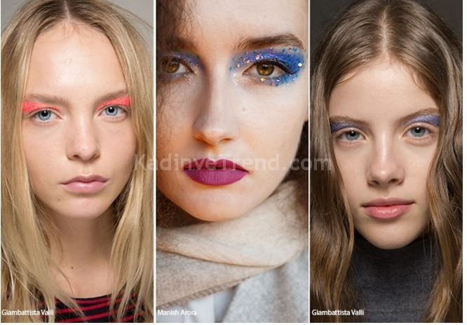 2016 parlak yaz makyaj trendleri