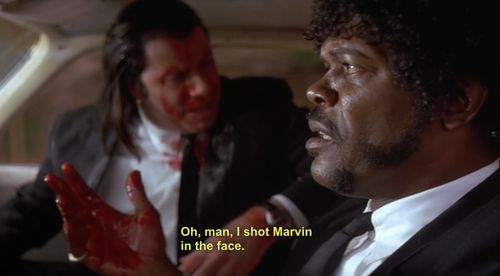 Pulp Fiction funniest moment