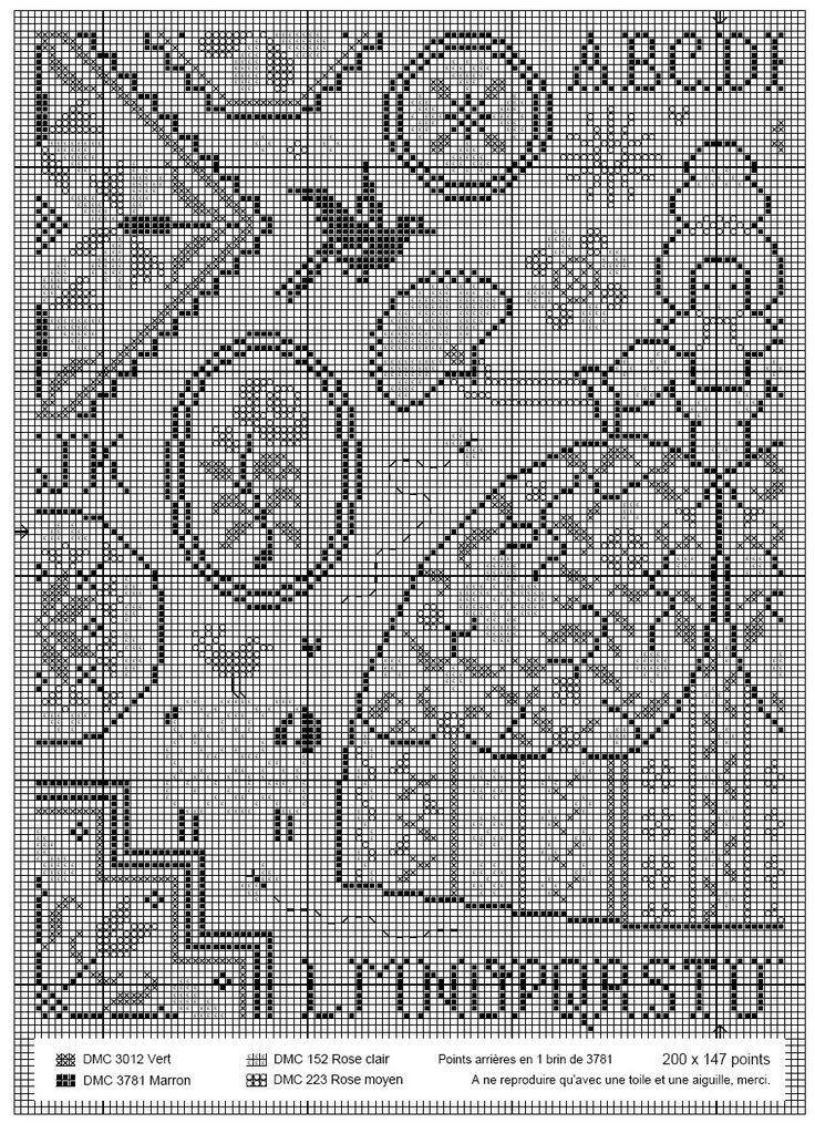 499 best quaker samplers images on pinterest cross for Jardin prive