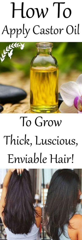 Apply Castor Oil This Way To Grow Thick, Luscious, Enviable Hair! -