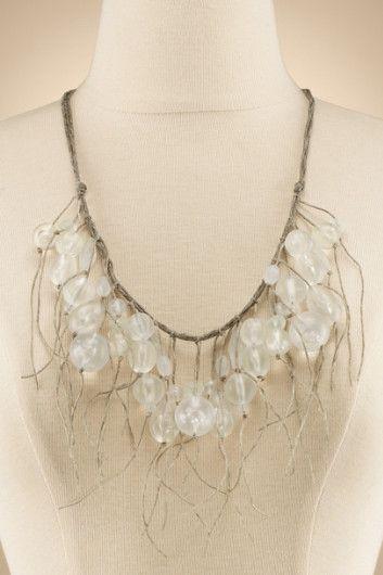 Captiva Necklace - Beachy Necklace, Womens Choker Necklace, Vintage Choker Necklace | Soft Surroundings