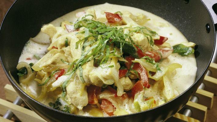 Thai-wok med kylling - Kos - Oppskrifter - MatPrat