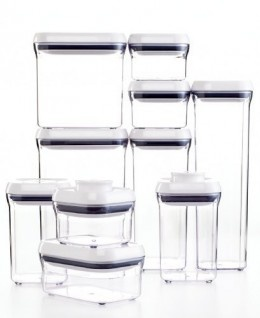 I have been wanting these for years!: 10 Pieces Pop, Grip 10Piec, Oxo 10Piec, 10Piec Pop, Grip 10 Pieces, Oxo 10 Pieces, Food Storage, Kitchens Gadgets, Storage Container