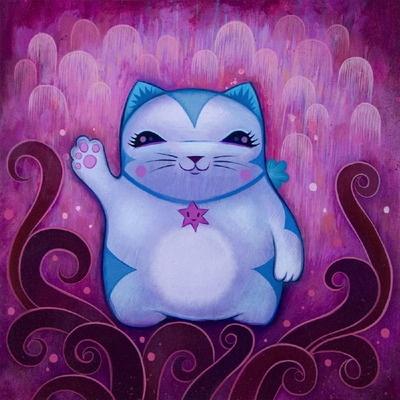 Maneki_Neko_-_Happiness-Jeremiah_Ketner-Acrylic-trampt-18207m.jpg?1321034282