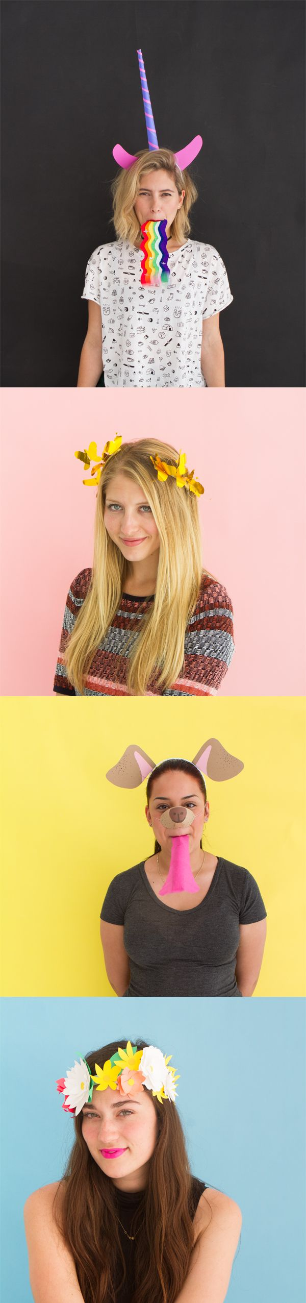 Snapchat Filter Costumes | Oh Happy Day!