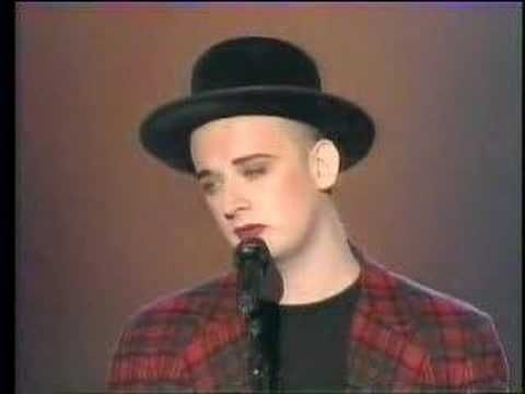 BOY GEORGE The Crying Game. Cool & nice memories with this song !!!!*Back to the 80's*