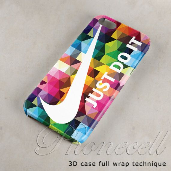 Geometric Nike Just Do it case iphone 4 case,iphone 4s case,iphone 5 case,iphone 5c case,iphone 5s case,galaxy s3,galaxy s4,iPod case on Etsy, $16.60 CAD